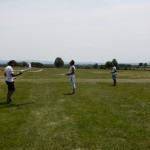 Le club d'aéromodélisme ACA a fait quelques démonstrations, fête du club des ailes du Carladez à Therondels